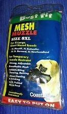 Best Fit Coastal Mesh Muzzle size 8Xl