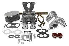 "Dual Port Single 40mm Carburetor Kit ""IDF Weber Copy"" VW Type1 With End Casting"