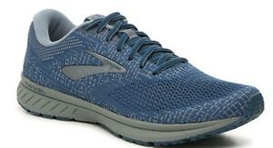 New Brooks Blue Gray Revel 3 Running Shoes Mens Sz 11 D Medium Width