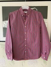 Mens Slim Fit Checked Cotton Shirt From GAP - Size M