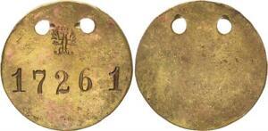 Kolonien ca. 1910 Deutsch-Südwestafrika Gefangenenmarke Nr. 17261 ss  60231