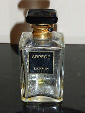 "Vintage Jeanne Lanvin ARPEGE Collectible Perfume Bottle Glass Stopper 4"" Tall"