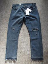 Levi Strauss pierna recta recortada Jeans Tamaño 505 C W32 Azul Oscuro NUEVO