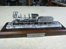 1/118  Danbury Mint PEWTER ENGINE-WILLIAM CROOKS 4-4-0 1 OF12 GREAT LOCOMOTIVES