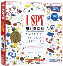 I Spy Memory Game; Ages 5+