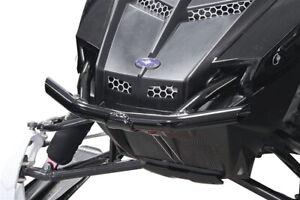 Skinz Chromalloy Front Bumper Black for Polaris Pro RMK 11-15 Pro Rush 10-14