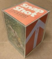 Vintage Photo Cube Hallmark excellent display six acrylic box album desk retro