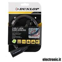 ED358 -  Lucchetto per bicicletta Dunlop - Vari colori
