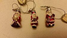 Glass Mini Santa Trio Midwest Cbk New