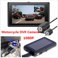 T2 Motorcycle DVR Video Recorder+1080P Full HD Front Camera and Rear View Camera