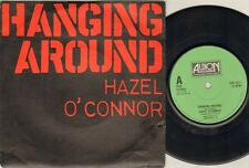 """HAZEL O'CONNOR Hanging Around  7"""" Ps, 3 Tracks Inc Hold On+Not For You, Ion 1022"""