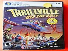 Thrillville: Off the Rails - NEW Sealed CD Rom  *** FREE Shipping ***
