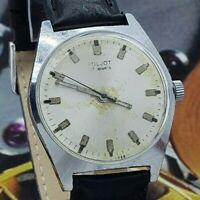 WristWATCH POLJOT USSR 2609 Vintage SOVIET Dress mechanical Men`s WATCH 17j