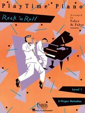 PlayTime Rock 'n' Roll Level 1 Faber Piano Adventures Book NEW 000420128