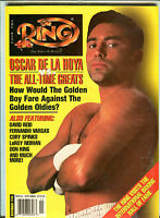 The Ring Boxing Magazine November 1998 Oscar De La Hoya EX 060716jhe