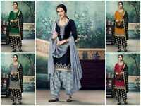 Indian/Pakistani ethnic suit Bollywood Designer Punjabi Patiala Salwar Kameez RD