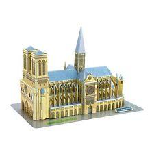 Puzzle 3D Notre Dame de Paris 74 pezzi Legler 8926
