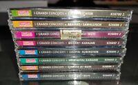 GG stock 8 CD AUDIO - I GRANDI CONCERTI - FAMIGLIA CRISTIANA - NUOVI! CLASSICA