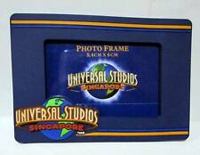 ▓ Universal studios singapore LOGO BLUE photo frame ref magnet