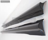 For Audi A4 B8 SIDE SKIRTS sideskirts spoiler side cover S4 skirt s sill bar