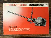 RARE!  Exakta Varex Endoskop Photo Prospekt  Text.deutsch - Classic-Camera-STORE