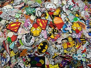 WHOLESALE Mix Lot Random Cartoons, TV & Movie Characters Iron or Sew on Patch
