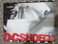 Vintage Dc Shoes Rick Howard Skateboard Skate Shoe Double-Sided Poster Brand New