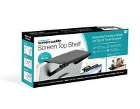 """Screen Caddy Monitor and TV Top Shelf - Space Saver 13.4"""" x 6.5"""" - As Seen on TV"""