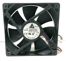DELTA ELECTRONICS DC BRUSHLESS FAN AFB1212H-SV78 DC12V 0.35A 120*120*25mm 3wire