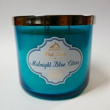 1 x MIDNIGHT BLUE CITRUS BATH & BODY WORKS SCENTED CANDLE 3-WICK 14.5OZ C24