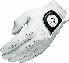 NEW 5 Titleist Players Mens Left Regular Medium/Large Gloves Pearl 5 Pack 6613E
