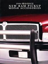 1994 Dodge Ram Truck Original Factory Dealer Accessories Brochure Catalog