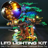 LED Light Lighting Kit ONLY For LEGO 21318 Ideas Treehouse Building Block