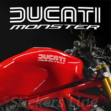 2 Aufkleber Tank Ducati Monster - Hold Style - Motorcycle Tank Stickers MOD.1
