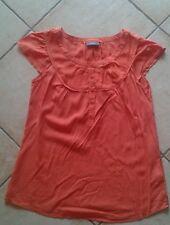 Schöne Bluse von Yessica Größe 38 Farbe: orange