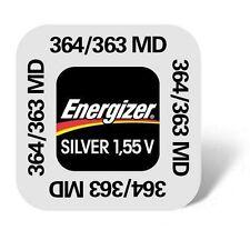 1 X Energizer 364/363 V364 pila de reloj Sr621sw 635709 AG1 Batería