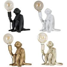 Modern Monkey Design Table Lamp Base Retro Living Room Lighting Animal Light