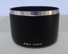 JGJ Metal Camera Lens Hood 49 mm for Tele Lens J49T
