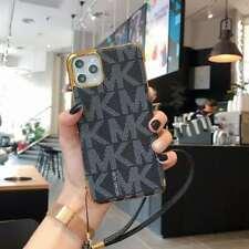 Michael Kors Leather Hard Case Cover iPhone 6 7 8 Plus X XS XR Max 11 12 Mini