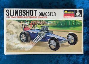 Vintage Model Kit SLINGSHOT DRAGSTER by Monogram 1967 version