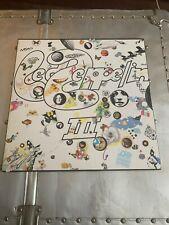 LED ZEPPELIN III 3 - Vinyl LP Monarch Mastercraft So Mote It Be SD 19128 Record