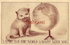 "1910 ""LAUGH AND THE WORLD LAUGHS WITH YOU"""