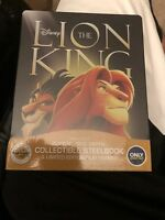 NEW The Lion King Blu-ray DVD Digital Disney Signature Collection Steelbook
