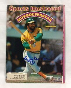 Reggie Jackson Signed Sports Illustrated June 1974 with MLB Authentic Hologram