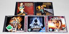5 PC SPIELE SAMMLUNG TOMB RAIDER 2 4 II IV LEGEND ANNIVERSARY ANGEL DARKNESS