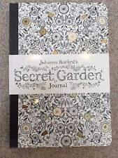 New Johanna Basford's Secret Garden Journal Adult Coloring Book - Free Shipping