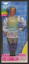 Rare Rainbow Prince Ken Barbie Doll New