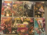 Guardians of the Galaxy / INFINITY ALL Variant Comic Lot/run Marvel NM