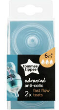 Tommee Tippee Advanced Anti-Colic Fast Flow Teats 6 Months Plus Replacement