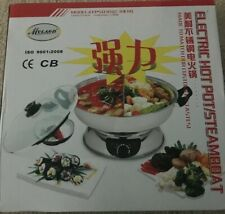 Myland ELECTRIC HOT POT STEAMBOAT Stainless Steel Divider Mongolian S1